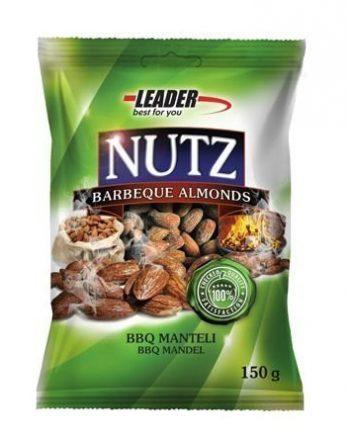 Leader Nutz Manteli BBQ 150 g