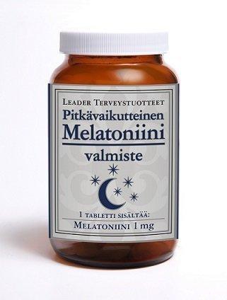 Leader Pitkävaikutteinen Melatoniini 1mg 100 tablettia