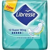 Libresse Invisible Super Wing 12 kpl