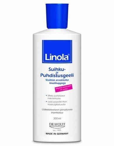 Linola Suihku- ja puhdistusgeeli 300 ml