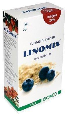 Linomix pellavansiemenrouhe 500 g.
