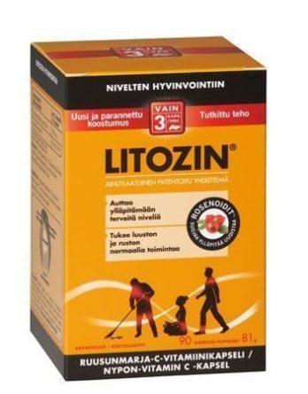 Litozin Ruusunmarja-C-vitamiinikapseli