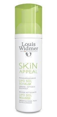 Louis Widmer Skin Appeal Lipo Sol vaahto 150 ml
