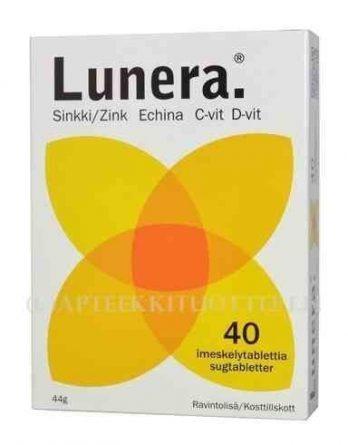 Lunera 40 imeskelytablettia