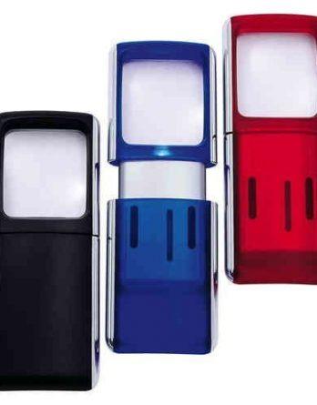 Lupen taskusuurennuslasi LED-valolla 1 kpl