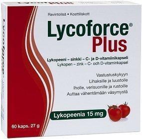 Lycoforce Plus lykopeenikapseli 60 kpl