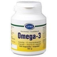 Lysi Omega-3 120 kapselia