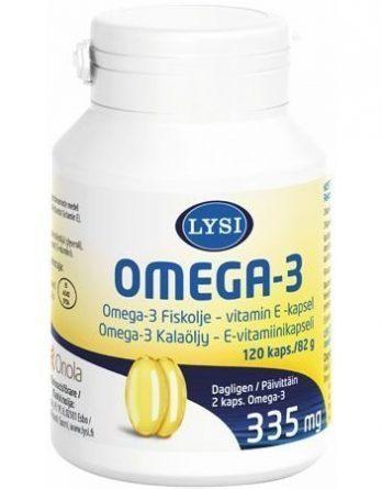 Lysi Omega-3 E-vitamiini