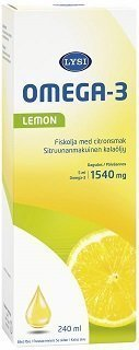 Lysi Omega-3 Lemon 240 ml