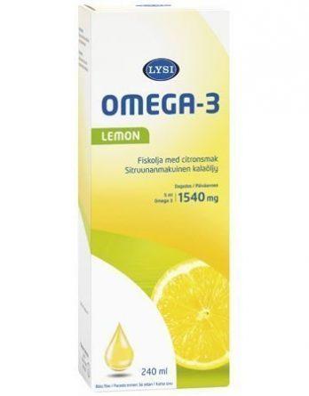 Lysi Omega-3 Lemon kalaöljy
