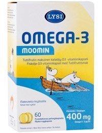 Lysi Omega-3 Moomin 60 kaps.