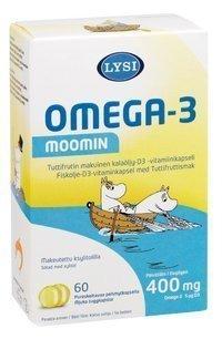 Lysi Omega-3 Moomin 60 kapselia