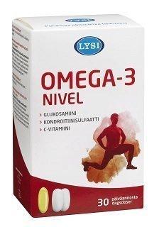 Lysi Omega-3 Nivel 30 kaps. + 60 tabl.