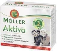 Möller Aktiva Omega-3-Magnesium-D-vitamiini 64 kaps.