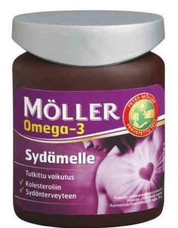 Möller Omega-3 Sydämelle 76 kapselia