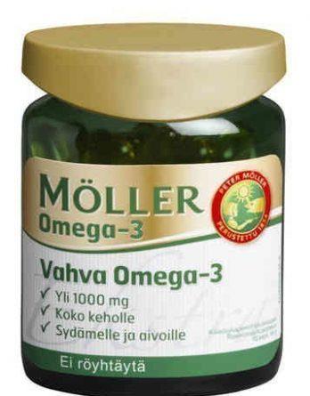 Möller Vahva Omega-3 70 kapselia