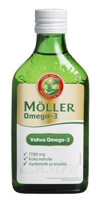 Möller Vahva Omega-3 kalaöljytiiviste 250 ml