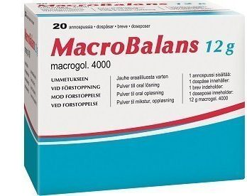 Macrobalans 750 g purkki