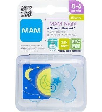 Mam Night Napp 0-6 Mån 1 kpl