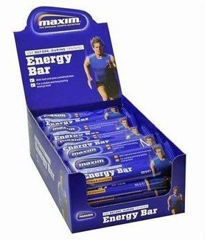 Maxim Energy Bar -patukka Caramel Choco 55 g x 25 kpl