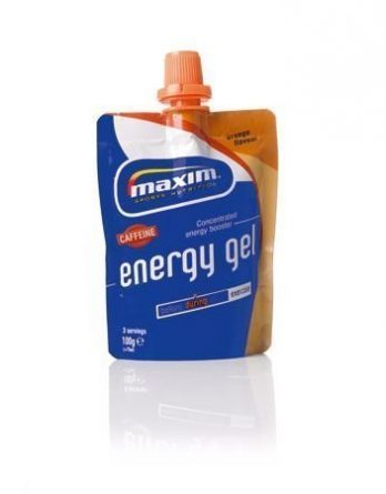 Maxim Energy Gel Orange with Caffeine 24 kpl (laatikko)