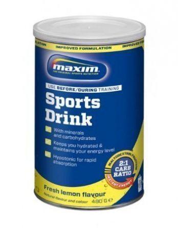 Maxim Urheilujuomajauhe Sitruuna