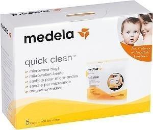 Medela Quick Clean Puhdistuspussi 5 kpl