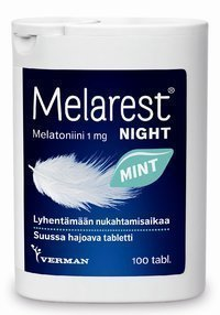 Melarest Night Mint 1 mg 100 tablettia