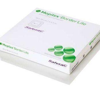 Mepilex Border Lite Skumförband 4 X 5 Cm 10 kpl