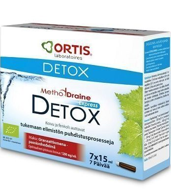 MethodDraine Detox Express 7 x 15 ml