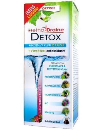 MethodDraine Detox vadelma-karpalo 250 ml