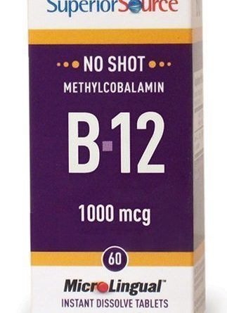 Methylcobalamin B12 1000 mcg 60 tablettia