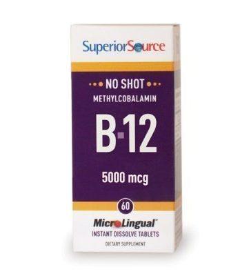Methylcobalamin B12 5000 mcg 60 tablettia