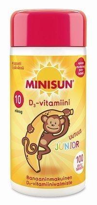 Minisun D3-vitamiini Junior 10 µg Apina