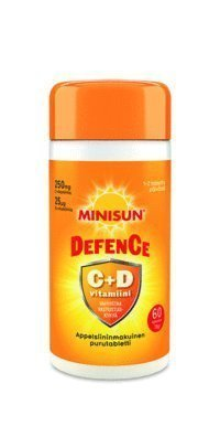 Minisun Defence 60 tablettia