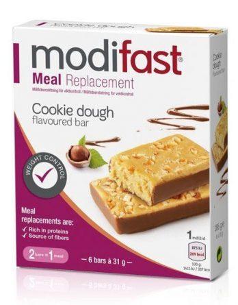 Modifast Bar Cookie Dough 6 kpl