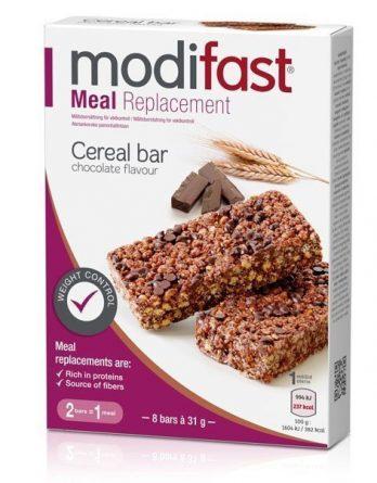 Modifast Cereal Bar Suklaa 8 kpl