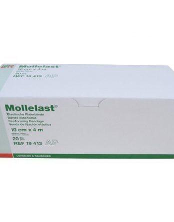 Mollelast Elastisk Gasbinda 10 Cm X 4 M 20 kpl