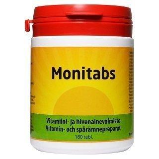 Monitabs Monivitamiiini 180 tablettia