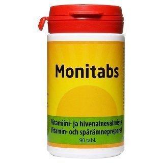 Monitabs Monivitamiiini 90 tablettia