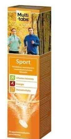 Multi-Tabs Sport 20 poretablettia
