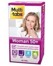 Multi-Tabs Woman 50+ 60 tablettia