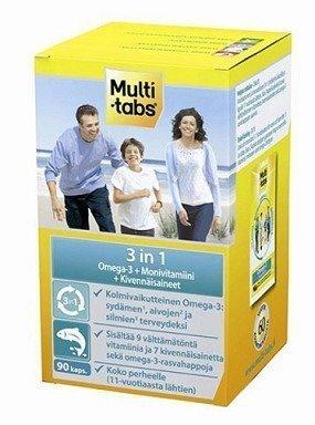 Multi-tabs 3 in 1 90 kapselia
