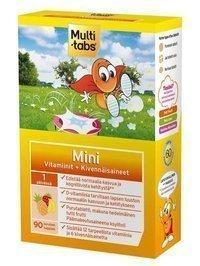 Multi-tabs Mini Tutti-frutti 90 purutablettia