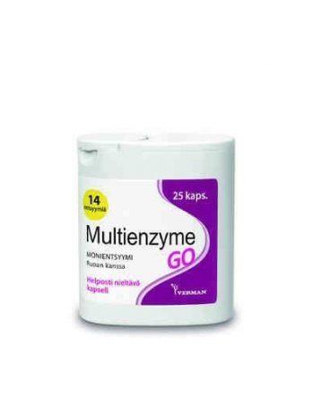 Multienzyme GO 25 kapselia