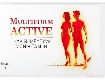 Multiform Active 30 tablettia