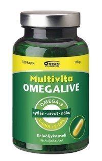 Multivita Omegalive 120 kapselia *