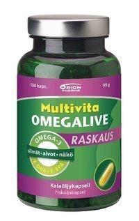 Multivita Omegalive Raskaus 100 kapselia *