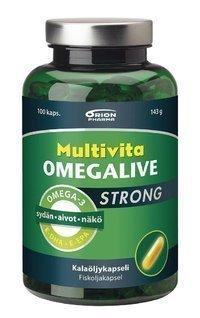 Multivita Omegalive Strong 100 kapselia *
