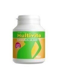 Multivita Raskaus ja imetys -monivitamiinivalmiste 120 tablettia *